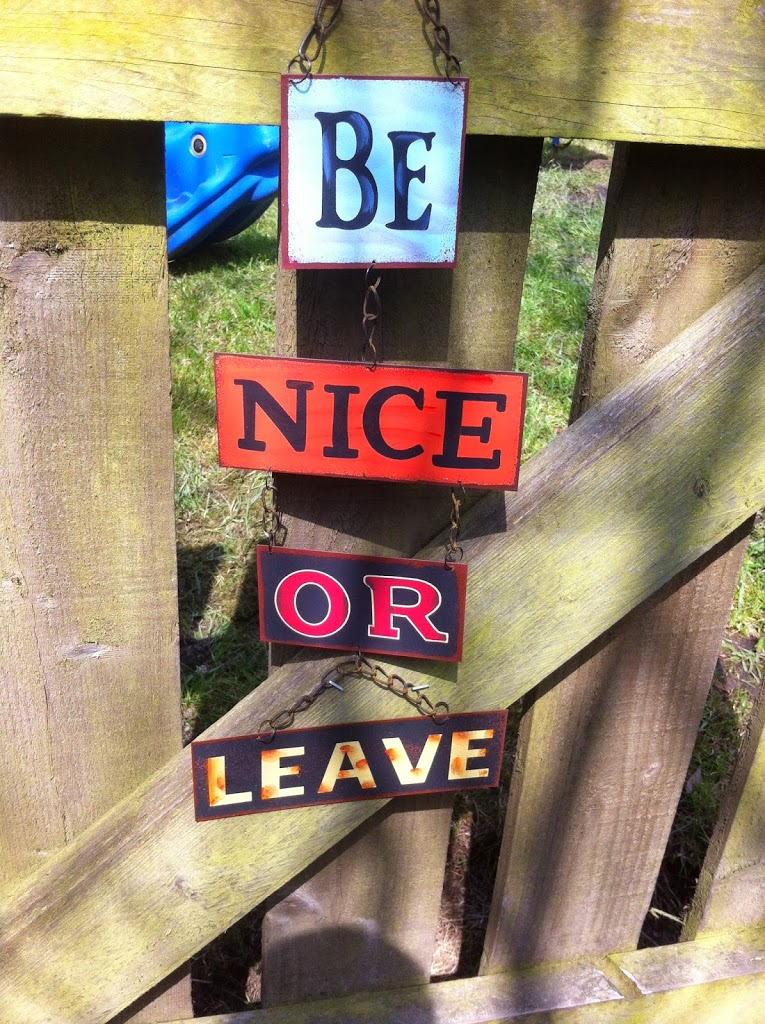 Be Nice or Leave!